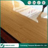 El papel de tarjeta del poliester de la madera contrachapada del poliester sobrepuso la madera contrachapada