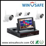 サポート3tb容量の皿NVRキットネットワークビデオIPのカメラ