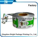 Lámina de aluminio Envases de plástico Film de alimentos en polvo