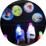LED Multi-Color Projection Flashing Finger Light (S3B-1011L)