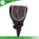 Il Frontal brasiliano del merletto dei capelli umani di Remy per il nero naturale