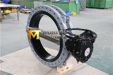 U de Vleugelklep van het Roestvrij staal van het Type Met het Toestel van de Worm (CBF01-TU01)