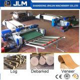 Protokoll-Furnier-Blattschalen-Maschine CNC-Spindless nach Afrika