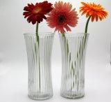 Florero de cristal de la flor caliente de la venta para la decoración casera