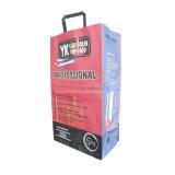 Le charbon de bois de feuillus de l'Emballage Sac en papier kraft pour 5kg avec poignée