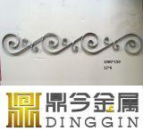 Puerta de hierro forjado en caliente de exterior Decoración