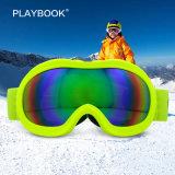 Beschermende brillen van uitstekende kwaliteit van de Ski van de Kinderen van Sporten Snowboard de Milieuvriendelijke Mist