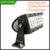 288W de conducción off road de la barra de luz LED curvada CREE
