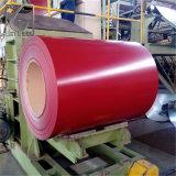 ASTM PPGI a enduit la bobine d'une première couche de peinture en acier enduite par couleur