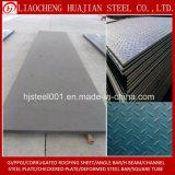 Placa de aço Checkered das lentilhas laminadas a alta temperatura da classe de HRC S235jr