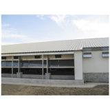 Casa de galinha Prefab Constructure de aço usado para a exploração avícola