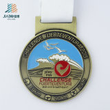 カスタムフクロウ亜鉛合金の骨董品の金の連続したスポーツメダル
