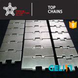 820 Single Hinge Straight Running Stainless Steel Flat Top Chain