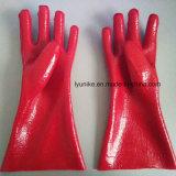 Безопасность рабочей Non-Slip Indusry ЖЭ с пунктирной линией, предварительно нанеся перчатки