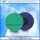 Discos rápidos da mudança disco do abrasivo de um torque de 2 polegadas