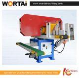 La sierra horizontal de la venda de Gabbart vio la máquina para la madera