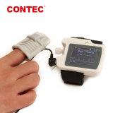 Punho Contec RS01 (SpO2/Taxa de pulso/PC Software) Monitor de apnéia do sono de respiração