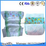 Couches-culottes respirables de bébé de qualité avec l'approvisionnement d'usine de manchette de fuite