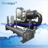 Refrigerador de refrigeração água do compressor do parafuso de Hanbell do refrigerador de água