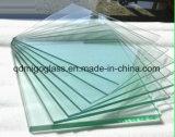 vidrio solar del flotador claro de 4m m para el panel solar