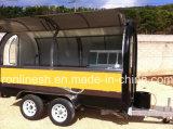 500 кг, 2 оси прицепа продовольствия/торговые автоматы торговые автоматы прицепа стенд/mobile/Hotdog Foodcart глохнет/Стрит продовольственной тележек CE