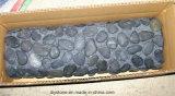 Estera larga del jardín del guijarro del negro caliente de la venta para la decoración