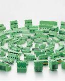 O melhor bloco terminal de venda de parafuso do PWB com passo de 6.35mm (WJ635)