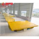 Vagão de alumínio de transferência do trilho da fábrica usado na indústria pesada (KPT-60T)