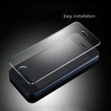 Protecteur d'écran en verre Tempered de téléphone mobile de pleine couverture de la vente en gros 0.3mm pour l'iPhone X 8 7 6 5 positifs