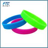 Wristband del silicone di energia dell'elastomero di modo