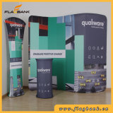 10FT S Shape Tension Fabric Trade Show Stand d'affichage