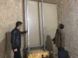 2017 بناء آليّة جدار لصوق يرشّ آلة