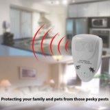 Elektronische Ultraschallnagetierrepeller-Bediengeräte-Hauptplagen stoßen Mäuse, Ratten, Motten, Hiebe, Moskitos, Fliegen, Flöhe, Armkreuze und mehr Insekt-Plage-Rückweisung ab