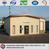 Jeûnent l'entrepôt préfabriqué multifonctionnel assemblé d'usine de structure métallique