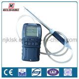 Rivelatore di gas portatile ricaricabile della batteria di litio multi per l'O2 Co Lel/CH4 di H2s