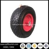 Rodas de borracha pneumáticas do ar do carro da ferramenta da roda 5.00-6 do Wheelbarrow