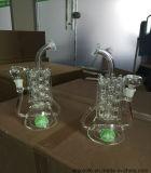 Recycler Inline-Perc Heizungs-Heizkörper-Form-rauchendes Wasser-Glasrohr