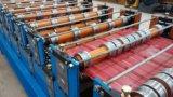 Decking do dobro do painel da telhadura que faz a maquinaria