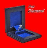 ギフトのペーパー木製の宝石箱の宝石類の収納箱包装ボックス宝石箱の荷箱の革ボックスペーパーギフトガラス一定ボックス(YL01)
