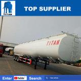 A Titan reboque-cisterna de combustível do tanque de água do tanque de combustível do carro fabricado na China