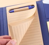 3 Falten-Haustier kombiniertes Notizbuch für Großhandels- oder kundenspezifisches Muster