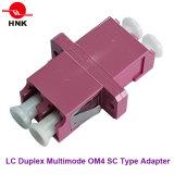 LC de duplex Optische Adapter van de Vezel van het Type van Sc