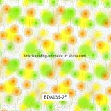 Le milandre vendeur Motif fleurs Hydro le trempage des films pour les articles de plein air et de l'usage quotidien (BDA136-2A)