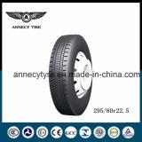 Pneumático radial 12r22.5 295/80r22.5 315/80r22.5 do pneu do caminhão com PONTO