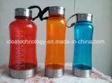 عادة بلاستيك حرّة يشخّص رياضة زجاجة
