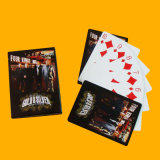 Póquer plástico dos cartões de jogo de 100% com logotipo feito sob encomenda