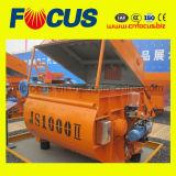 Stationärer elektrischer Betonmischer der hochwertigen Doppelwelle-Js1000