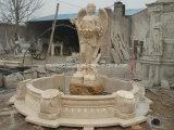 Fontana di marmo di lusso intagliata mano con la statua di angelo (SY-F129)