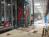 Linha de produção automática cheia venda quente do painel de partículas do cartão da planta