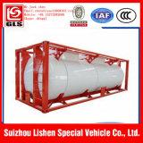 20 HCl футов контейнера бака сделанного в Кита